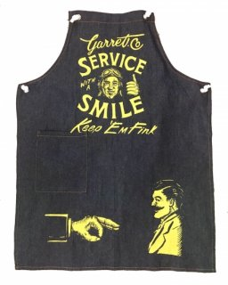 """Service with a Smile"" MULTI APRON(DENIM)"