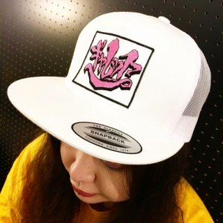 """SHAR×GARRET""5PANEL CAP(WHITE)"