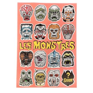 """LES MONSTRES""POSTER(A3)"