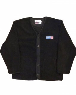 """GARRET""BOA CARDIGAN(BLACK)"