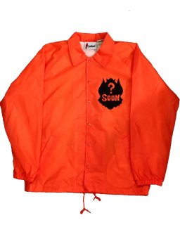 """LES MONSTRES"" COACH JKT(ORANGE)"