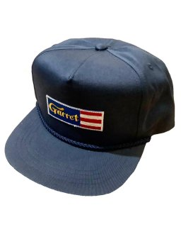 """GARRET""5PANEL SNAPBACK(NAVY)"