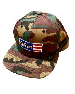 """GARRET""6PANEL SNAPBACK(CAMO)"