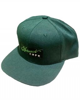 """NervousCafe""6PANEL SNAPBACK(GREEN)"