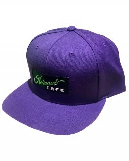 """NervousCafe""6PANEL SNAPBACK(PURPLE)"
