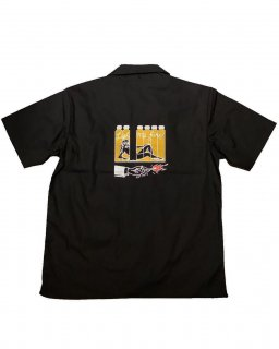 """GET HOT""S/S SHIRT(BLACK)"