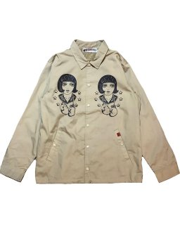 """LouiseBrooks""cottonpickin×GARRET COACH JKT(BEIGE)"