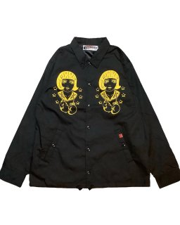 """LouiseBrooks""cottonpickin×GARRET COACH JKT(BLACK)"