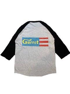 """""""GARRET LABEL""""3/4 SLEEVE TEE(GRAY)"""