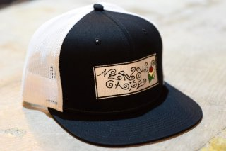 """TMYTATTOO×NERVOUSCAFE""MESH CAP(BLACK)"