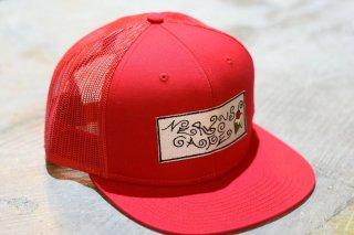 """""""TMYTATTOO×NERVOUSCAFE""""MESH CAP(RED)"""
