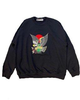 """遊鷹"" SWEAT(BLACK)"