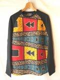 アフリカン ラグランTシャツ