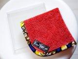 タオルハンカチ アフリカ布【送料無料】