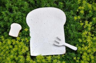食パンの皿(ショートケーキサイズ)