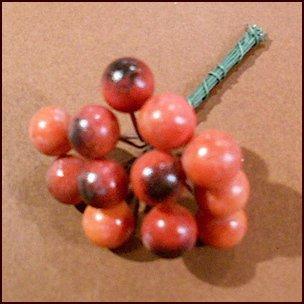 花材 プリザーブド ドライ 造花 フラワーアレンジメント用 赤い実