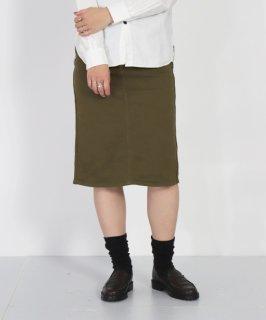 [ D.M.G / ディーエムジー ]<br />14ozストレッチホワイトデニム 4Pスカート