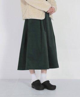 [D.M.G / ディーエムジー]<br />ストレッチ別珍 ウェビングベルトスカート
