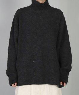 [ OMNIGOD womens / オムニゴッド ]<br />接結ウール タートルクルーネックセーター