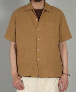 [ OMNIGOD mens / オムニゴッド ]<br />リネンキャンバス ショートスリーブシャツジャケット