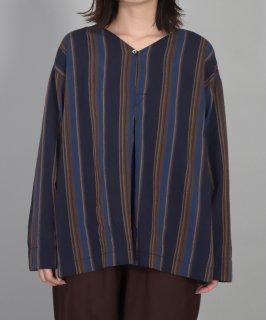 [ OMNIGOD womens / オムニゴッド ]<br />レトロストライプローン オリエントシャツ