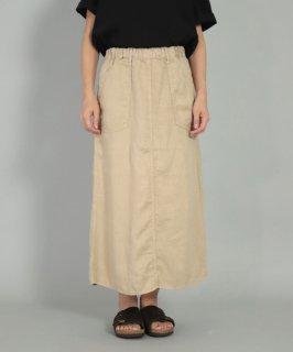 [ OMNIGOD womens / オムニゴッド ]<br />リネンツイル PWイージースカート