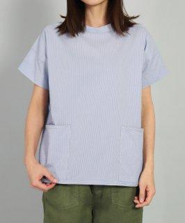 [ OMNIGOD womens / オムニゴッド ]<br />クールマックスサッカー ショートスリーブガーデナーシャツ