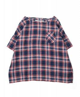 [ OMNIGOD womens サンプル vol.3-21 ]<br />ポケットスモックシャツ