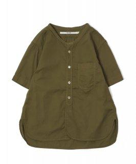 [ OMNIGOD womens サンプル vol.3-22 ]<br />ショートスリーブスタンドカラーシャツ