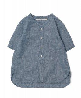 [ OMNIGOD womens サンプル vol.3-23 ]<br />ショートスリーブスタンドカラーシャツ