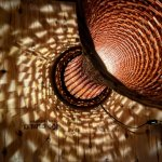 柳の灯り(円柱型)