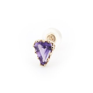 studded  Pierce Amethyst/ 1611-005