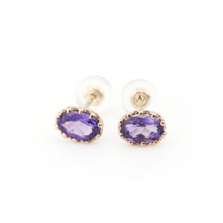 studded  Pierce Amethyst / 1611-006