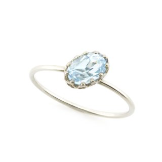 float ring Blue Topaz / 1611-017