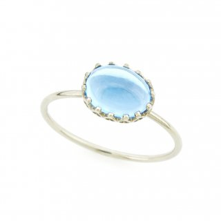 float ring Blue Topaz / 1611-018