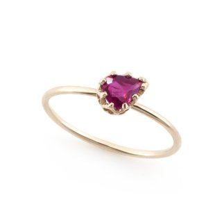float ring Ruby / 1611-021