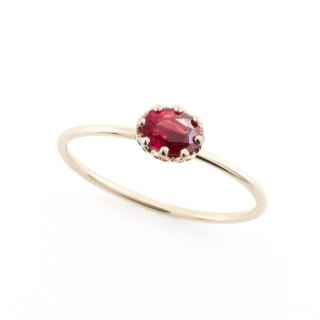 float ring Ruby / 1611-030