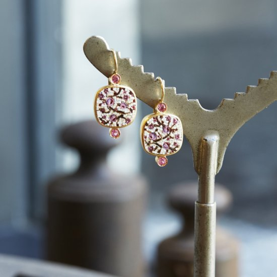 CHERRY BLOSSOM / earing / S1611-010