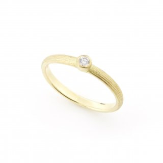 cool d ring pinky K18YG /1612-027