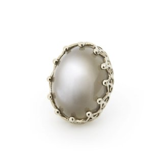 Jewel Parts Grey Moonstone/1704-005