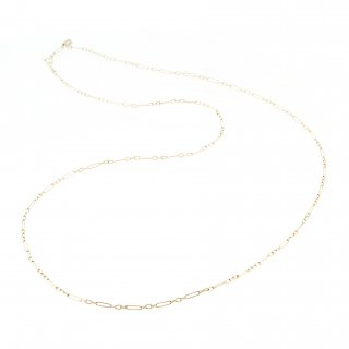 oblong necklace (long) / 1706-008