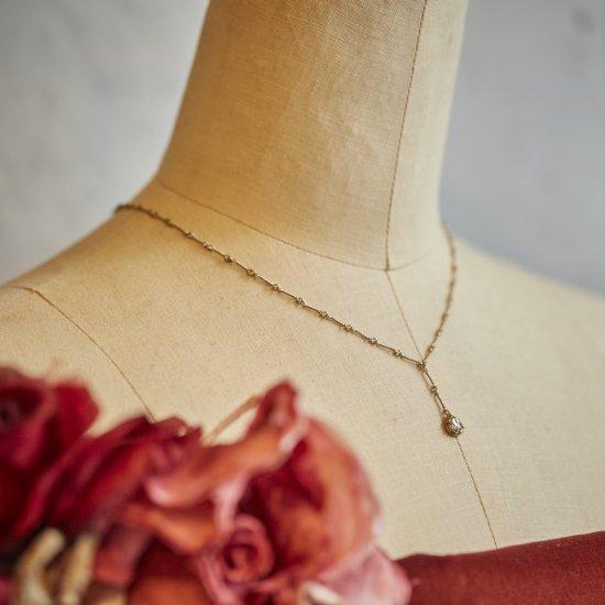 raindrop necklace / 1706-013