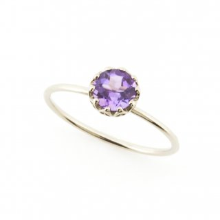 float ring Amethyst / 1707-006