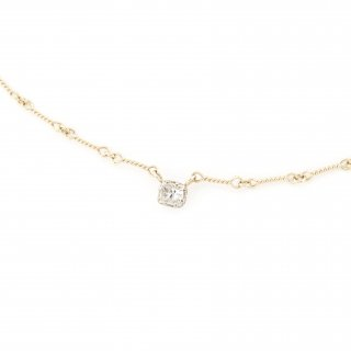 float necklace Diamond / 1707-015