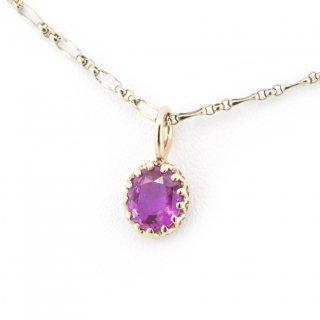 float charm pink sapphire /1710-008