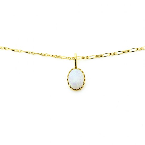 float charm Opal /1710-009