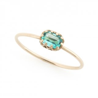 float ring Emerald/ 1711-005