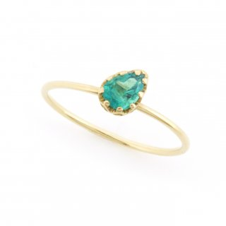 float ring Emerald/ 1711-006