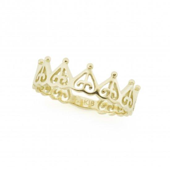crown ring YG / 2011-021