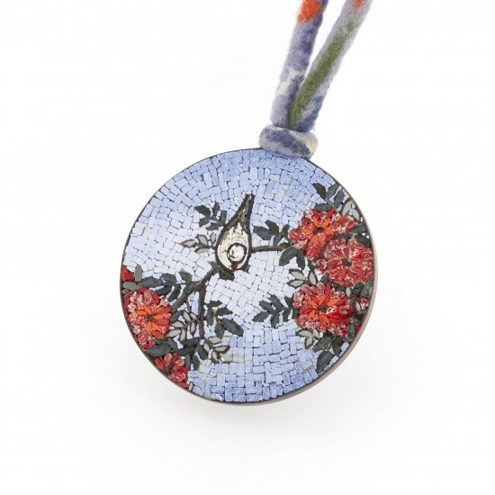 Hokusai Flowers / necklace / S1801-003